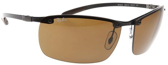 Ray-Ban Gafas de sol Para Hombre RB8306-082/83: Dark carbon: Amazon ...
