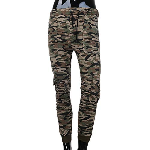 Spbamboo Mens Camouflage Fold Pocket Slim Fit Casual Sport Overall Trouser Pants by Spbamboo (Image #2)