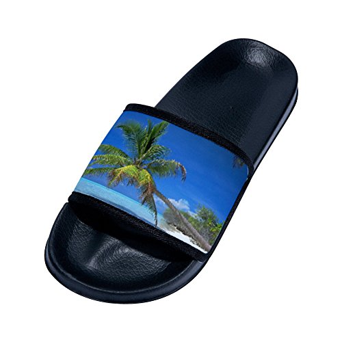 Kelysun Summer Beach Sanls Pink Stripes Comfortable Flip-Flop Multiple Sizes Unisex