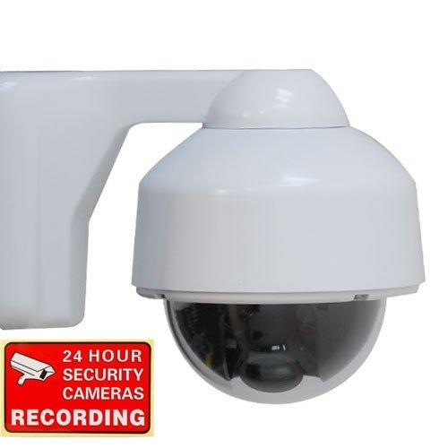 VideoSecu Color CCD Zoom Focus Security Camera Outdoor Weatherproof 420TVL Build-in 4-9mm Varifocal Lens for CCTV DVR Home Surveillance System 1Z5