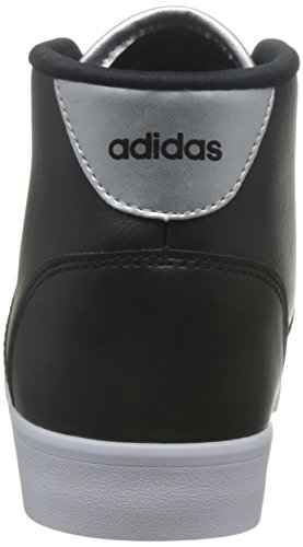 para EU Mid Cloudfoam W Negbas Daily Cuello Deporte Baja Mujer Zapatilla Plamet del Negbas Negro adidas Qt 36 de RdCCn