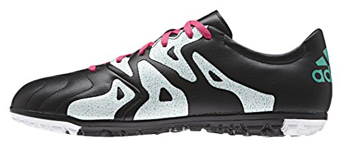 adidas X 15.3 Tf Leather, Botas de Fútbol para Hombre Varios colores (Negro / Rosa / Blanco (Negbas / Rosimp / Menimp))