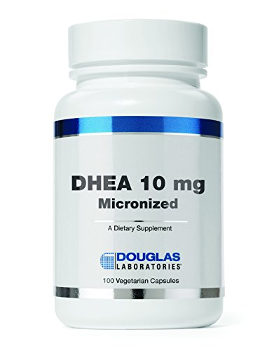 Douglas Laboratories - DHEA 10 mg - Micronized to Support Immunity, Brain, Bones, Metabolism and Lean Body Mass* - 100 Capsules