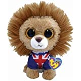 Hero Lion Ty Beanie Boo Uk Exclusive by Ty Beanie Boos