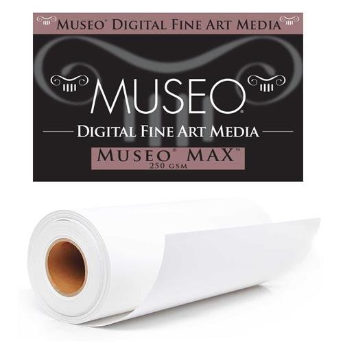 Matte Surface Inkjet Paper - Museo Max Fine Art Archival Inkjet Paper for Digital Printing, Matte Surface, 250 gsm, 15 mil, 17