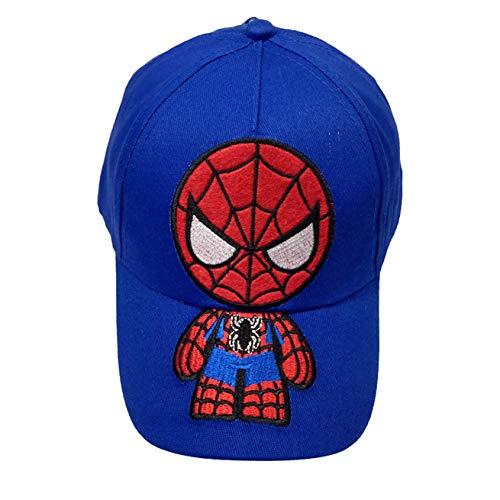 Spider-Man Kids Baseball Cap Spider Hat Children Kids Youth Cartoon Sun Caps ()