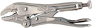 product image for Wright Tool 9V5WR Curved Jaw Locking Pliers with Wire Cutter, 5-Inch