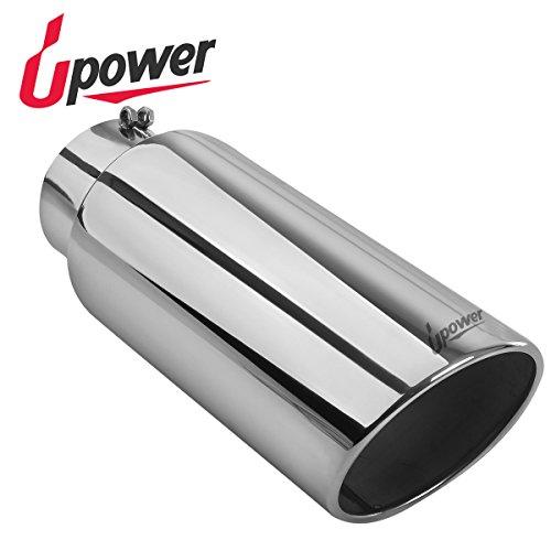 Diesel Exhaust Tips (Universal Diesel Trucks Car Exhaust Tip 5 inch inlet 7