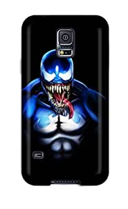 Bernook Galaxy S5 Well-designed Hard Case Cover Evil Character Spiderman Protector