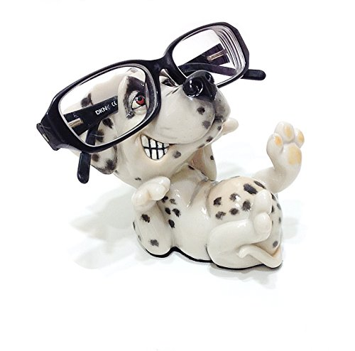 Dalmation Puppy Dog Breed Lovers Novelty Eyeglass Holder Stand
