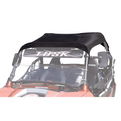 Tusk UTV Fabric Roof Black -Fits: Polaris RANGER RZR 570 2012-2015
