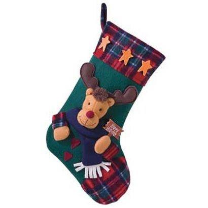 Plush Stocking Rudolph - Style 35605