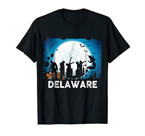 Delaware Halloween Black Ghost Shirt Delaware Ghost Shirt for $<!--$16.99-->