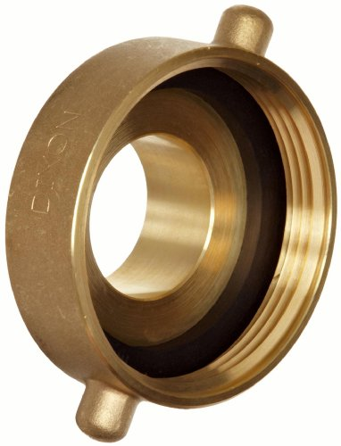 Dixon Valve HA2515T Brass Fire Equipment, Hydrant Adapter with Pin Lug, 2-1/2
