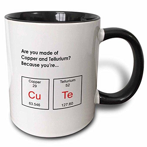 3dRose Copper Tellurium Because Periodic