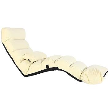 Moderne Confort Longue Salon Plancher Chaise Lrsfm Pliante EYD29WHI