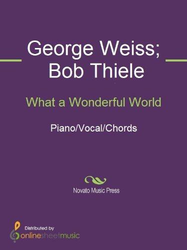 What A Wonderful World Kindle Edition By Bob Thiele Eva Marie