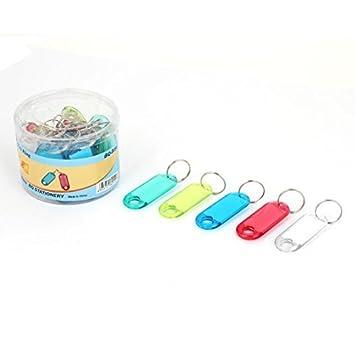 Amazon.com : eDealMax 30 x Multicolor de plástico ID de ...
