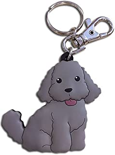 Yuri on Ice Plush Makkachin Poodle Pendant Anime Keyring Decor Phone Accessories