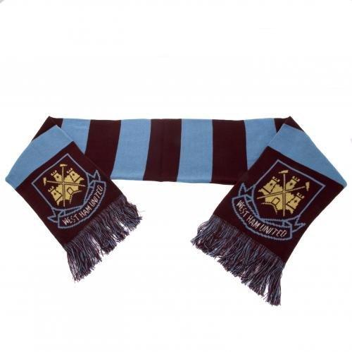 West Ham United Crest Bar Scarf