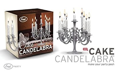 1 X CAKE CANDELABRA With Candles