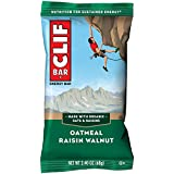 CLIF BAR - Energy Bars - Oatmeal Raisin Walnut- (2.4 Ounce Protein Bars, 12 Count)