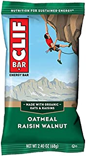 product image for CLIF BAR - Energy Bars - Oatmeal Raisin Walnut - (2.4 Ounce Protein Bars, 12 Count)