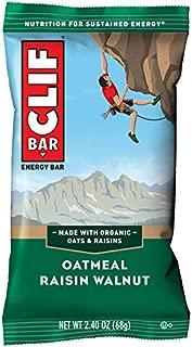 product image for CLIF BAR - Energy Bars - Oatmeal Raisin Walnut - (2.4 Ounce Protein Bars, 12 Count)