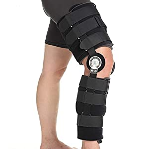 Genutec Long Post OP Knee Brace 34