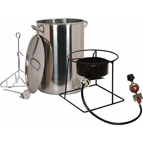 King Kooker 30 Quart Turkey Fryer Package with Stainless Steel Pot by Turkey Fryer