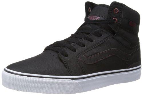 地下室面白いパネルVans メンズ Vans Mens Sanction Xtuff Black Andorra Skateboardi