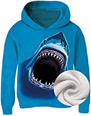 Idgreatim Unisex 3D Wolf Hoodies Personalized Printed Cool Tank Shirt Pants