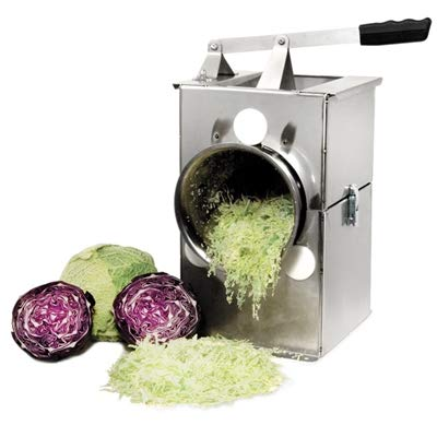 Harvest Fiesta USA Made Deluxe Stainless Steel Cabbage Shredder (Best Cabbage For Slaw)