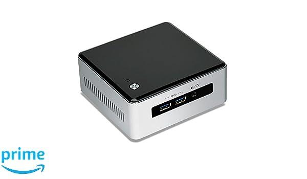 Intel BLKNUC5I5MYHE - Barebón (Intel Core i5-5300U, 2.3 GHz, HDD, SSD, 2.5