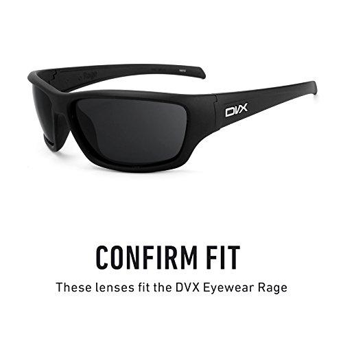 Revant de Titanio para Rage Eyewear — repuesto múltiples Lentes Elite DVX Mirrorshield Polarizados Opciones rrxqfZ4Sw