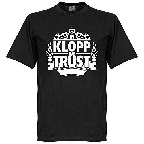Klopp in We Trust maglietta, colore: nero
