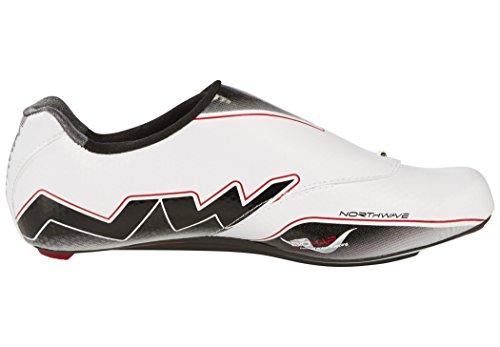 Northwave Extreme Aero Rennrad Fahrrad Schuhe weiß/schwarz 2017