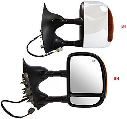APS DM-SUP0306PHTSC Door Mirror Complete Set