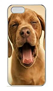 Case For Htc One M9 Cover Yawning Cute Puppy Funny Lovely Best Cool Customize Case For Htc One M9 Cover S Cover Transparent
