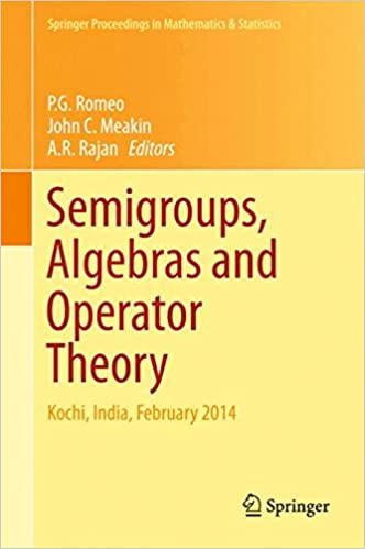 Semigroups, Algebras and Operator Theory: Kochi, India,