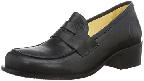 John W. Shoes 1055-17, Scarpe Donna Blu (Marino)