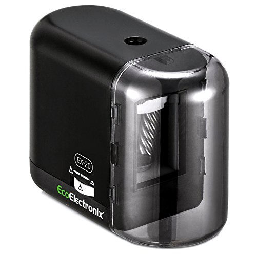 EX-20 Electric Pencil Sharpener, Heavy Duty Helical Blade...