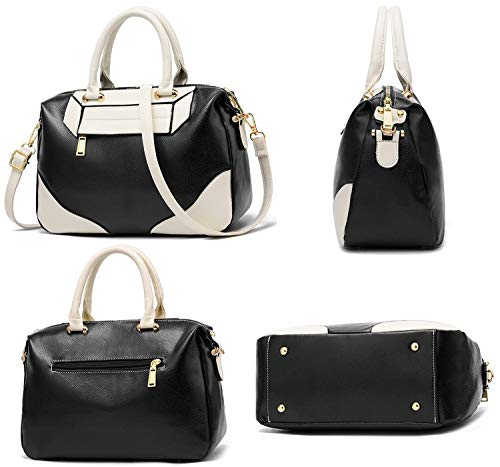 Bag Tote Designer Leather Top Handle Shoulder Bags Handbags Purple Cossbody Ladies Purse for Faux Women twPWxHqS