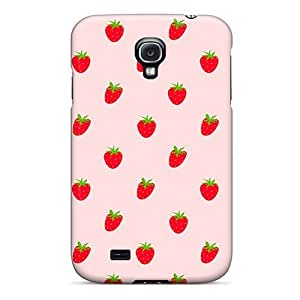 Excellent Galaxy S4 Case Tpu Cover Back Skin Protector Strawberries