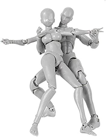 2.0 Artists Action Figure Model for SHF Body Kun Doll PVC Body-Chan DX Set