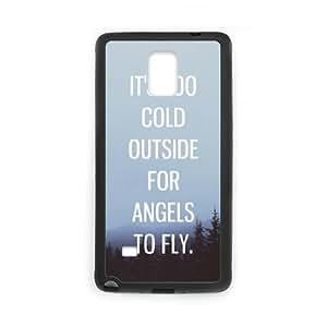 Samsung Galaxy Note 4 Cell Phone Case Black Ed Sheeran Quotes Phone Case For Girls XPDSUNTR35698