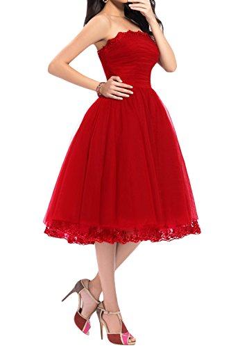 Mujer Toskana Braut Rojo 52 Vestido Para Noche IzHwr8qz