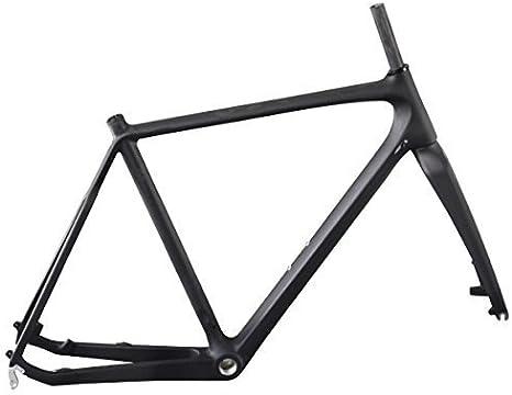 ICAN Carbono Cuadro Bicicleta de Ciclocross Disco Freno 55cm ...