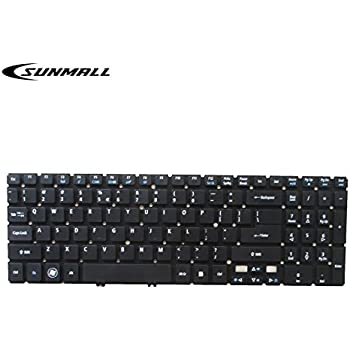 SUNMALL Keyboard Replacement Without Frame Compatible with Acer Aspire V5 V5-531 V5-531G V5-531P V5-531PG V5-551 V5-551G V5-571 V5-571P V5-571G ...