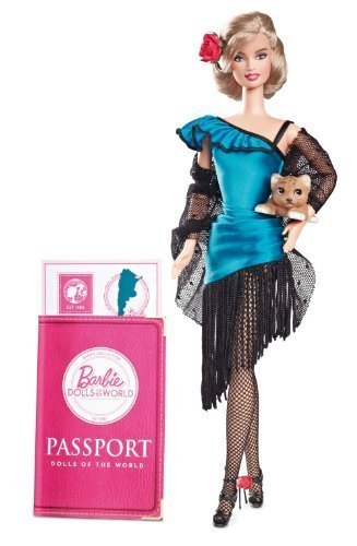 Barbie Collector Dolls of the World Argentina by Mattel - Argentina Doll